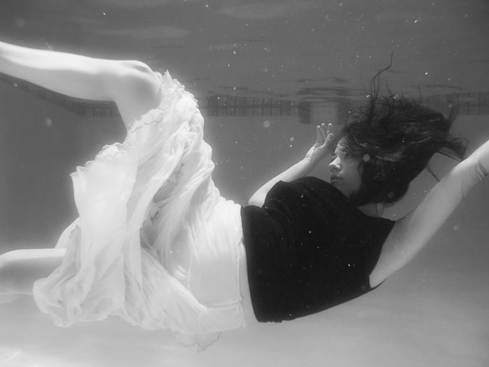 submerged underwater photos by brian birzer