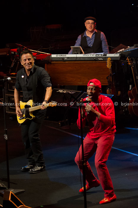 Bruce Springsteen and Jimmy Cliff sxsw 2012