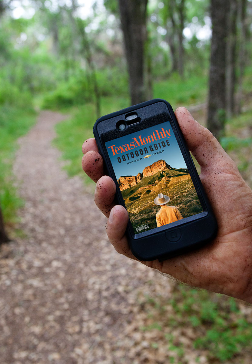 Texas Monthly travel smart iphone and android app