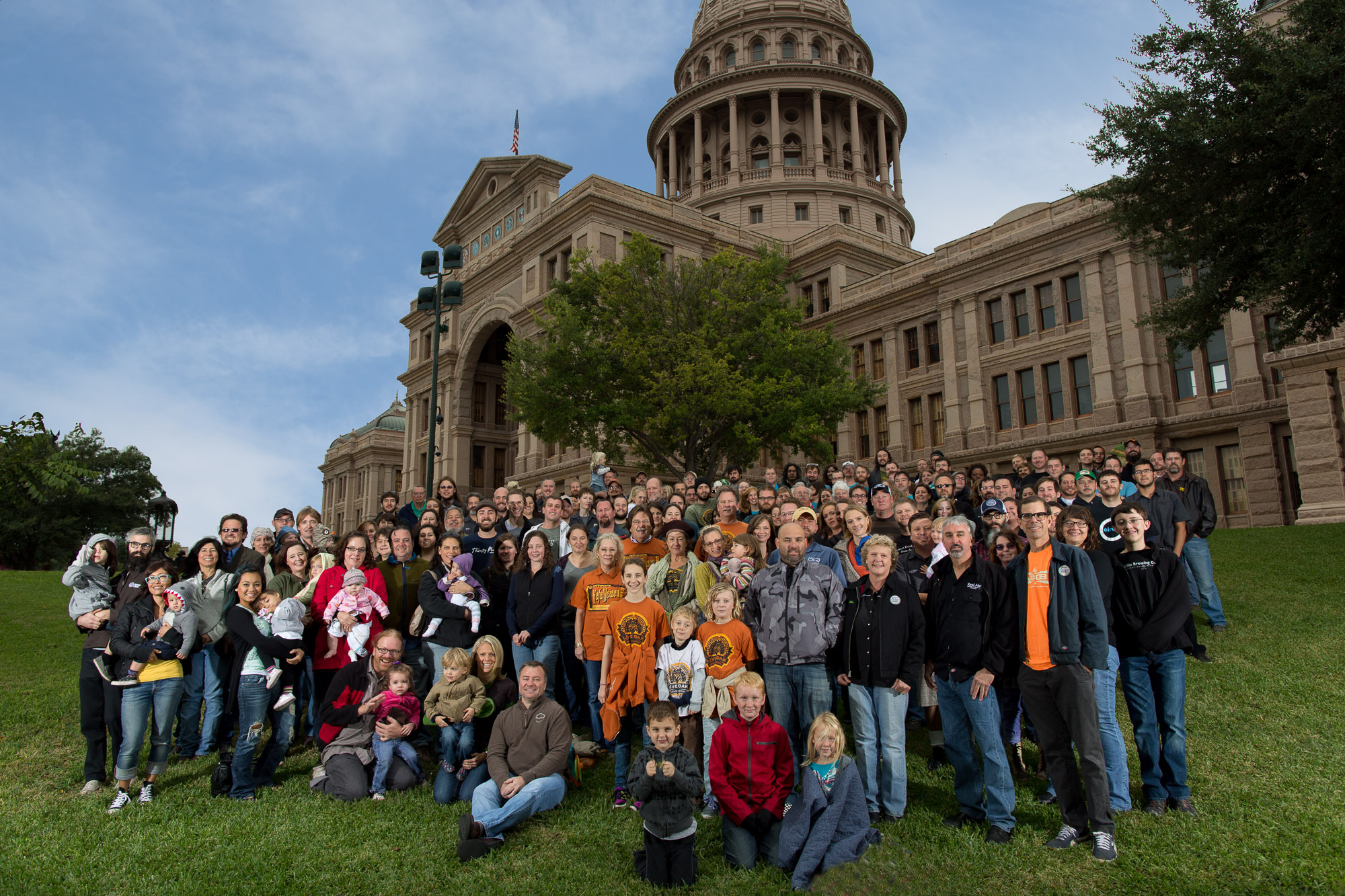 Texas Craft Brewers Guild group photo