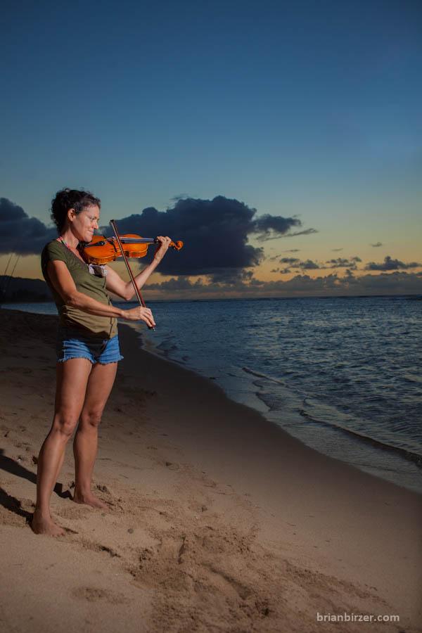 North Shore musician portrait