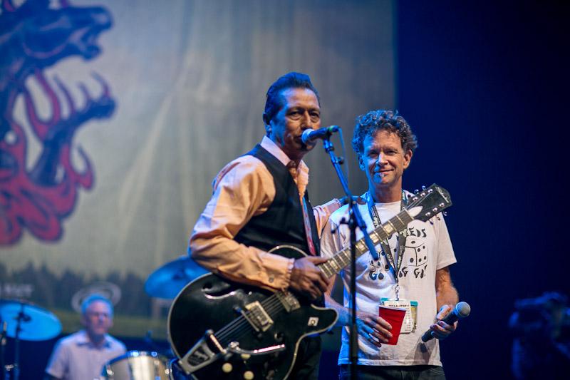 Alejandro Escovedo and Mike Hall GrulkeFest Photos © Brian Birzer