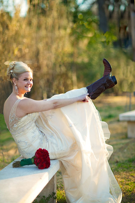 Bridal Portraits for every cowgirl