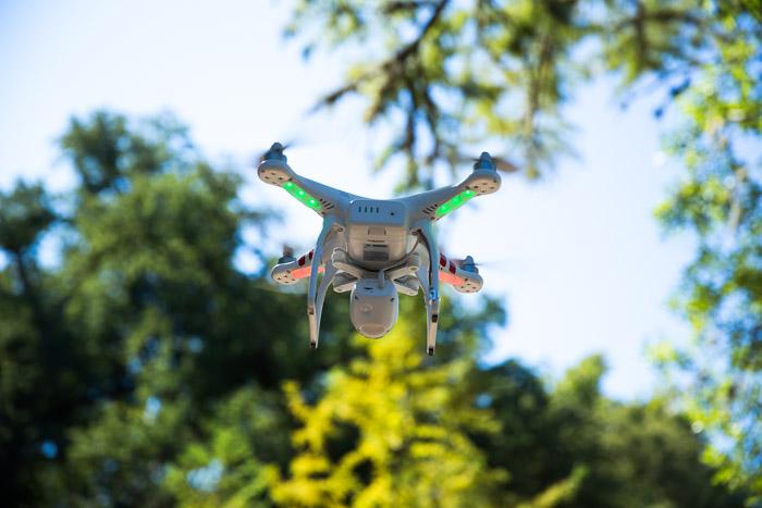 DJI Innovations Phantom 2 Vision video shoot
