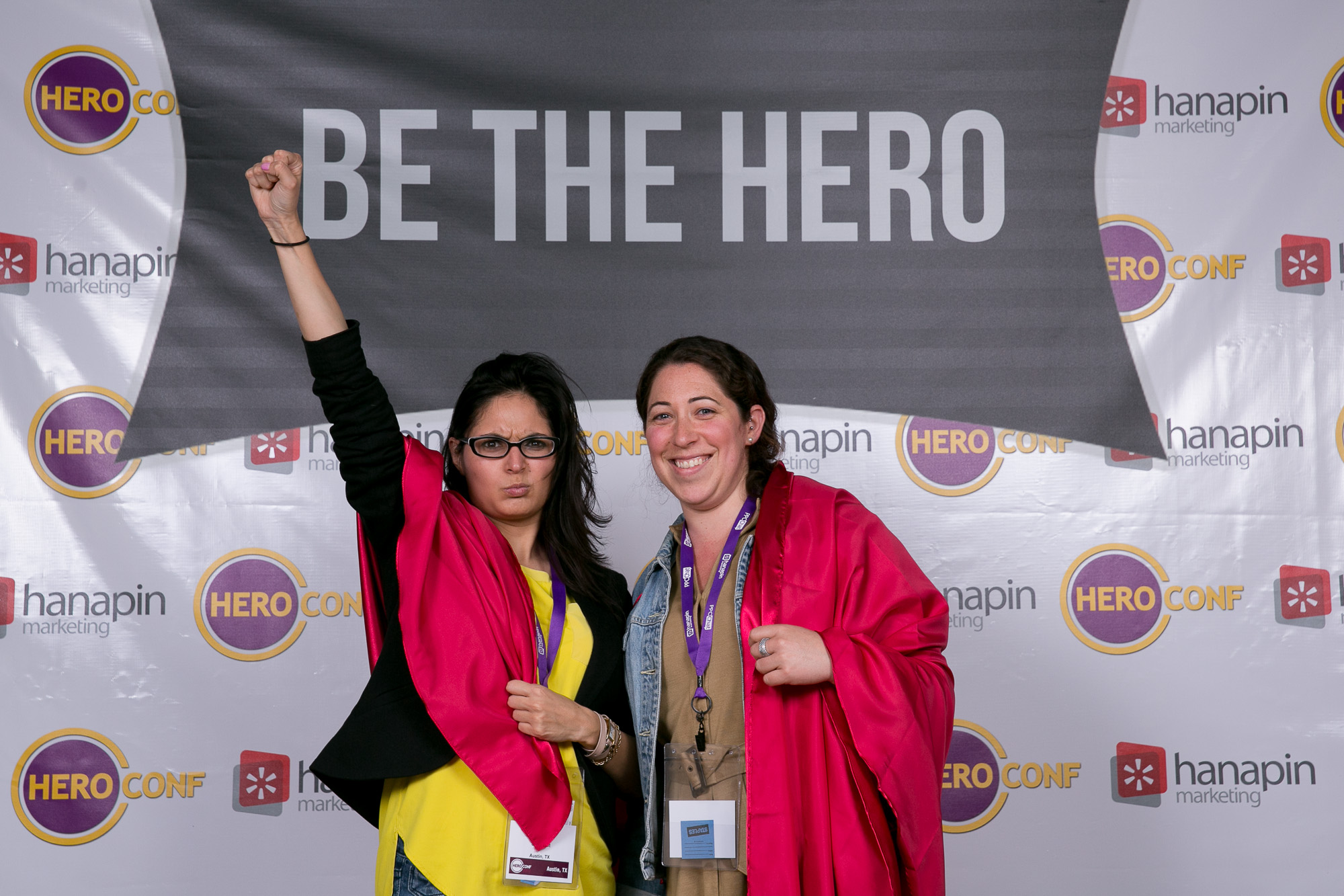 Be the Hero Photo Booth Austin