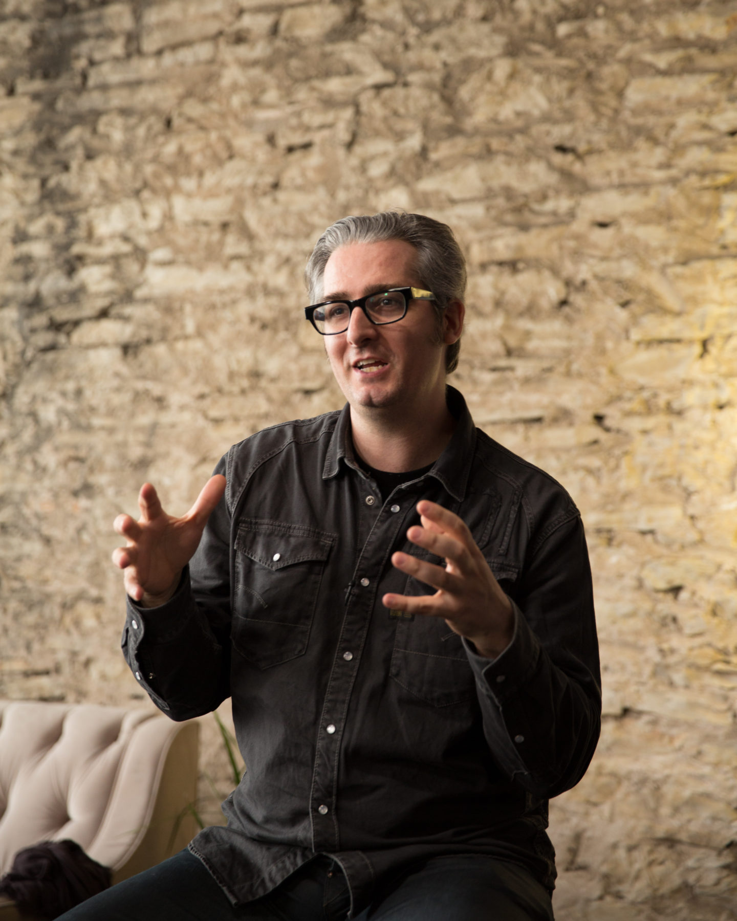 Bre Pettis CEO - MakerBot Industries at SXSW Interactive Activation for General Electric