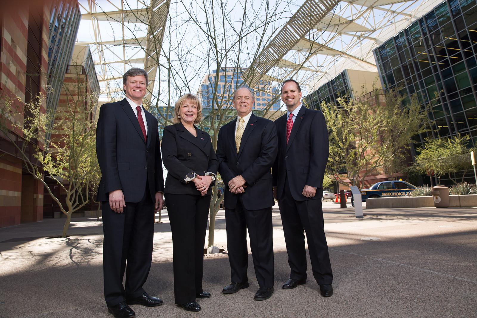 Corporate executive portraits, Phoenix Convention Center
