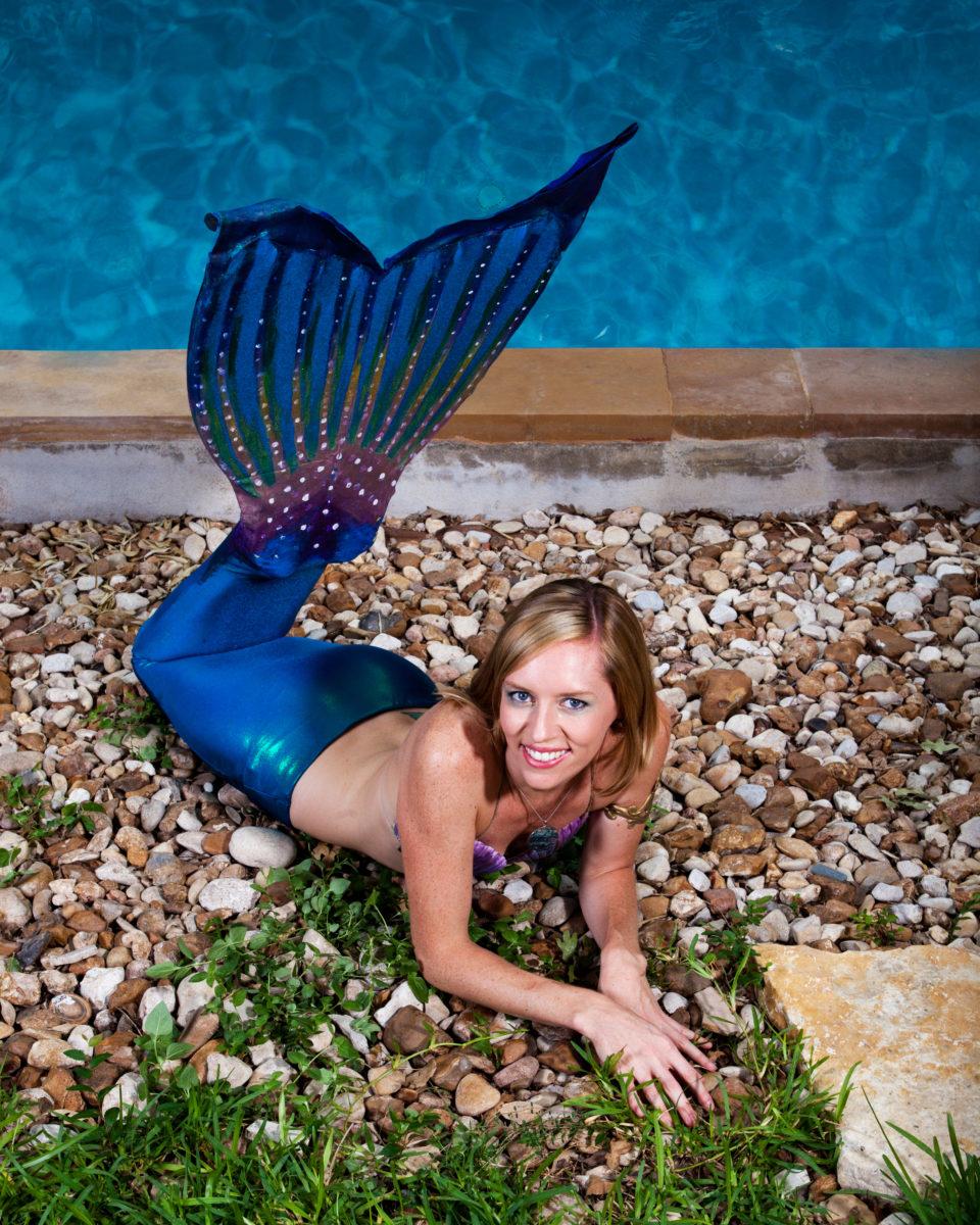 Mermaid lifestyle shoot