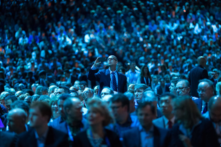 ASUG / SAPPHIRE 2016 alone in a crowd